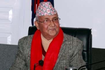 New government only after general election: PM Oli