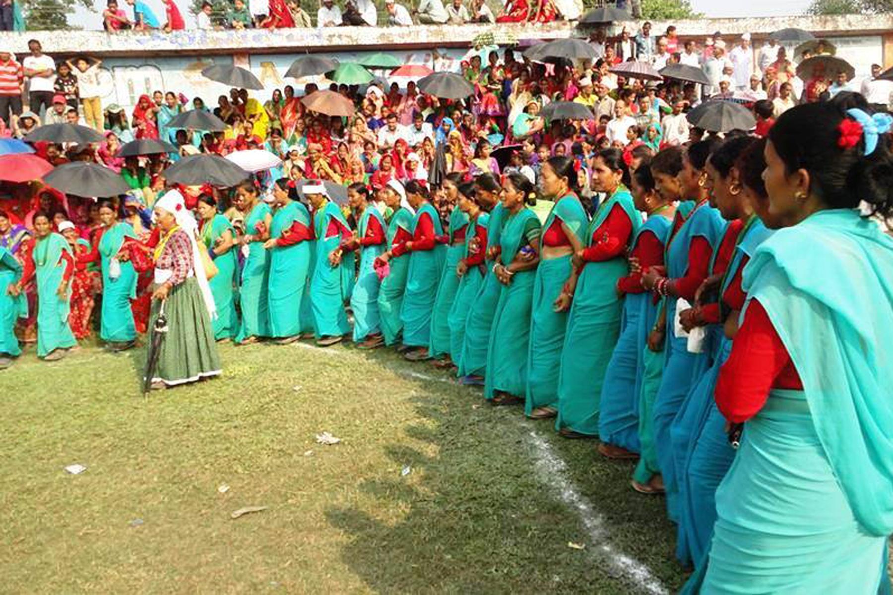 कञ्चनपुरमा देउडा प्रतियोगिता