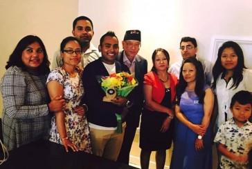 समाजसेवी डा. मन्सुर लण्डनमा सम्मानित