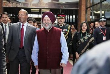 नयाँ भारतीय राजदूत काठमाडौमा