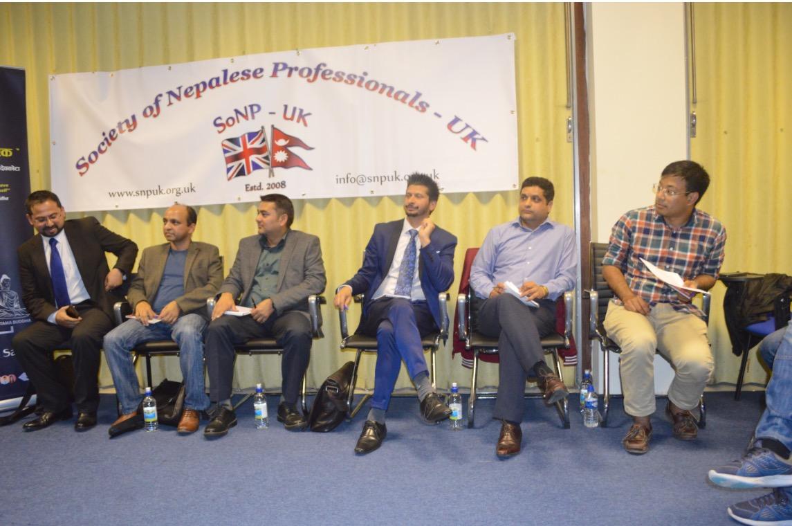 लण्डनमा वित्तीय व्यवस्थापनबारे अन्तरकृया