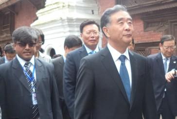 प्रधानमन्त्री र राष्ट्रपति भेटेर वाङले भ्रमणको विट मार्ने