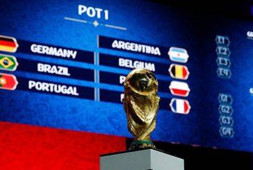विश्वकप फुटबल: इङ्ल्यान्ड र बेल्जियम एकै समूहमा, अर्जेन्टिनालार्इ सजिलो !