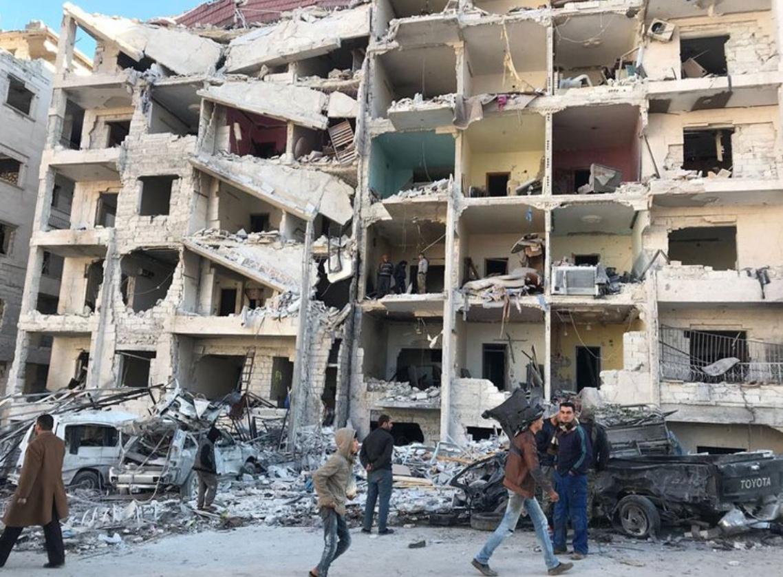 सिरियाको राजधानी दमास्कसको बाहिरी क्षेत्रमा क्लोरिन ग्यास आक्रमण