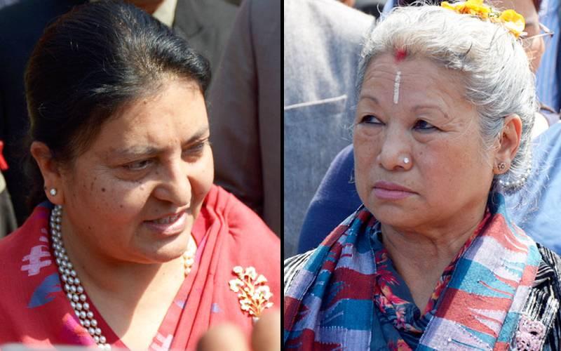 राष्ट्रपतिको निर्वाचन आज, प्रतिष्पर्धामा विद्यादेवी र लक्ष्मी