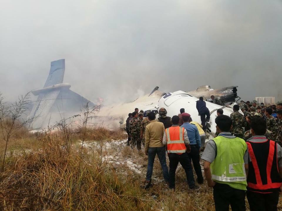 अपडेट: विमान दुर्घटनामा ४९ को मृत्यु २२ घाइते