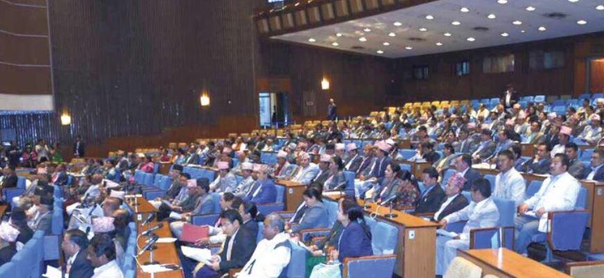 संसदमा पाँच मन्त्रालयको खर्च कटौतीको प्रस्ताव प्रस्तुत